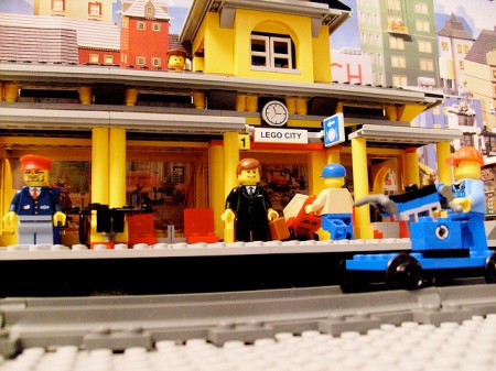 Lego 7997 Train Station at Brickford