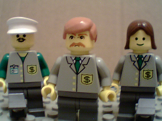 Lego Sloans Bank team at Brickford